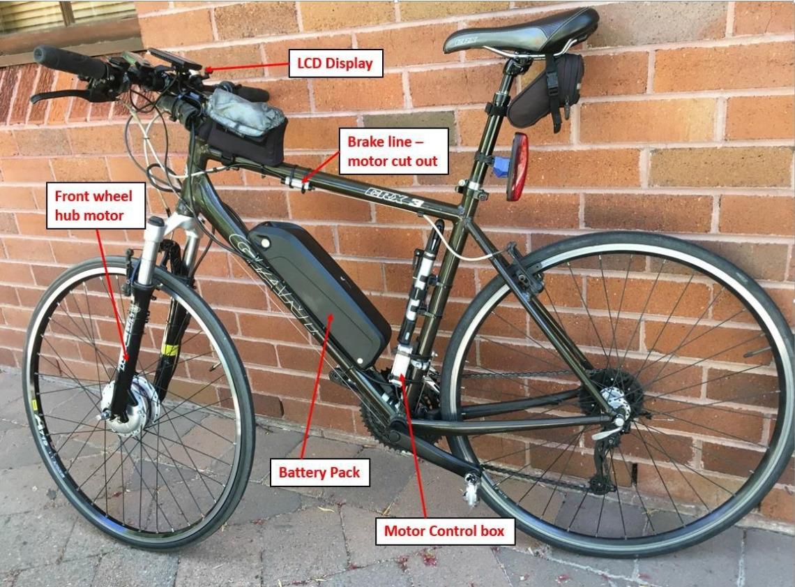 Convertible e-bike