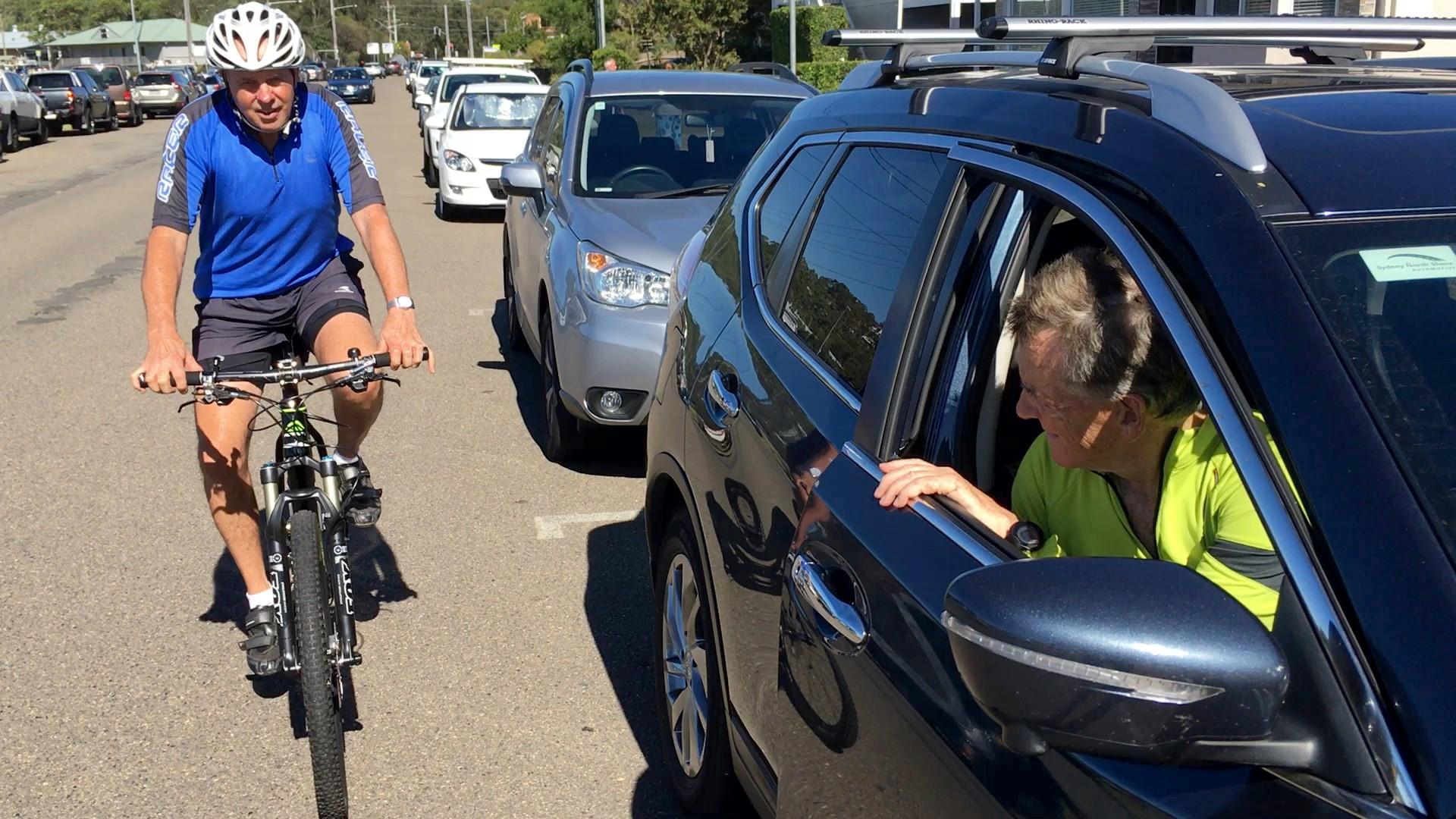 Dooring a cyclist