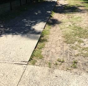 Bike Path Lip