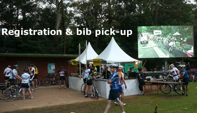 Registration and Bib Pickup